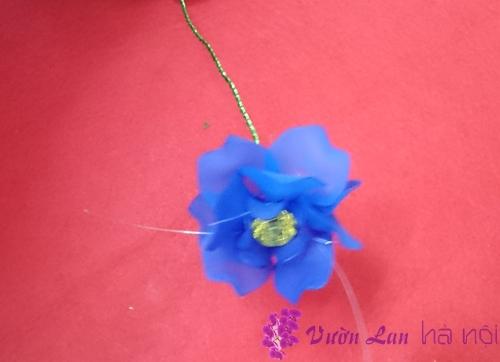 cách làm hoa lan hồ điệp pha lê